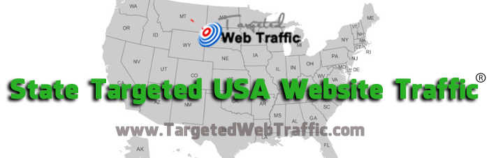 State Targeted USA Website Traffic