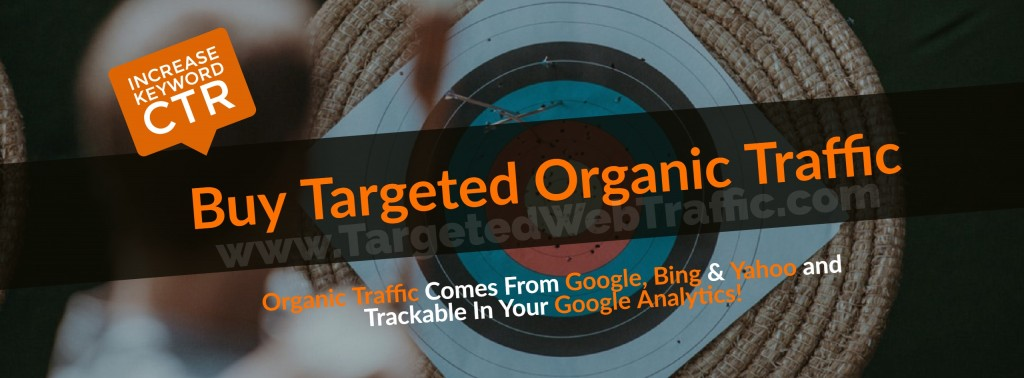Buy Targeted Organic Traffic | Keyword Targeted Google Organic Traffic