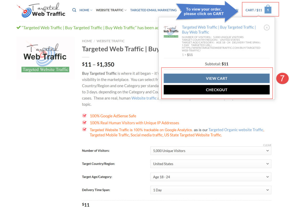 How You Can Place Order- TargetedWebTraffic-2