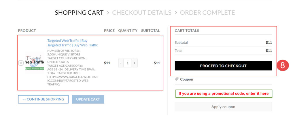 How You Can Place Order- TargetedWebTraffic-3