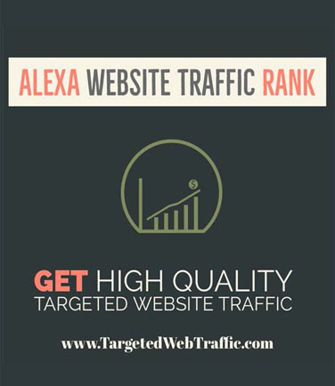 Buy Alexa Traffic Rank - Increase Your Alexa Rank | Buy Traffic Now